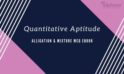 Alligation & Mixture MCQ eBook