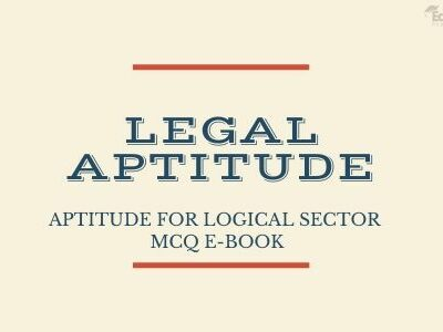 Aptitude for Logical Sector MCQ eBook