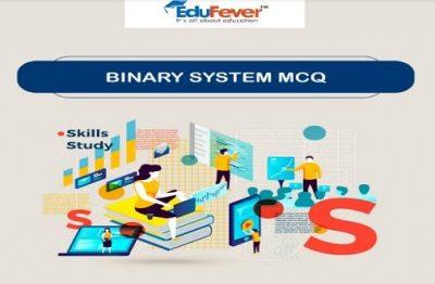 Binary System MCQ