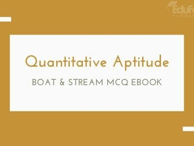 Boat & Stream MCQ eBook