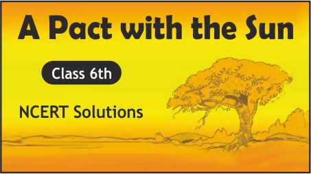 CBSE Class 6th English A Pact with the Sun NCERT Solutions