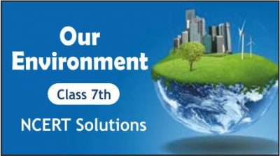 CBSE Class 7th Our Environment NCERT Solutions