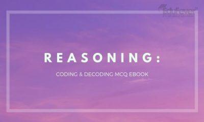 Coding & Decoding MCQ eBook
