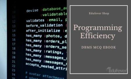 DBMS MCQ eBook