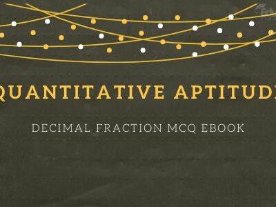 Decimal Fraction MCQ eBook
