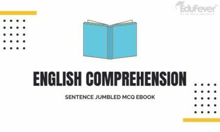 English Comprehension Sentence Jumbled MCQ eBook