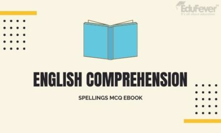 English Comprehension Spellings MCQ eBook