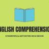 English Comprehension Synonyms & Antonyms MCQ eBook