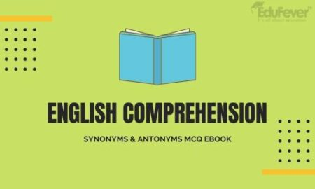 English Comprehension Synonyms & Antonyms MCQ eBook