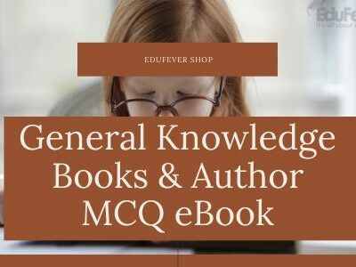 General Knowledge Books & Author MCQ eBook