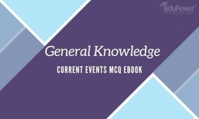 General Knowledge Current Events MCQ eBook