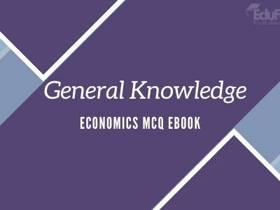 General Knowledge: Economics MCQ eBook