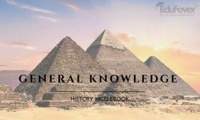 General Knowledge History MCQ eBook