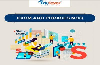 Idiom & Phrases