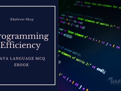 Programming Efficiency Test: Java Language MCQ eBook
