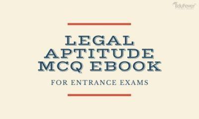 Legal Aptitude MCQ EBook For Entrance Exams