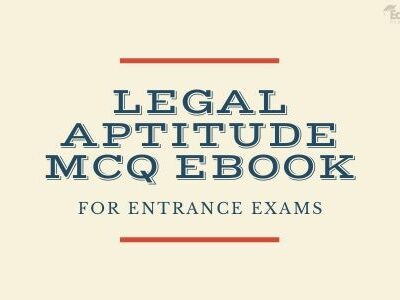 Legal Aptitude MCQ EBook For Entrance Exams
