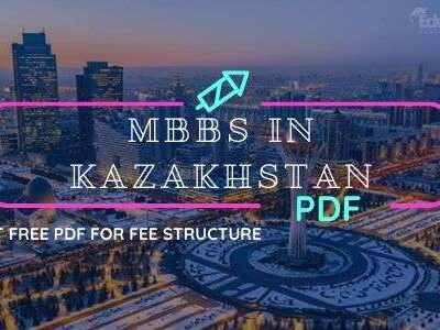 Download Free MBBS in Kazakhstan 2020-21 Fee Structure in PDF