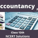 Download Free Class 12th Accountancy Part 2 NCERT Solution 2020-21 in PDF