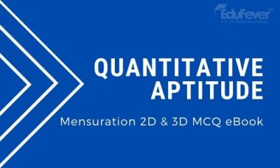 Mensuration 2D & 3D MCQ eBook