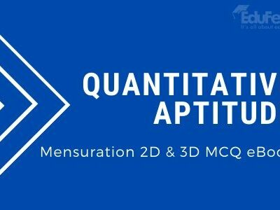 Mensuration 2D & 3D MCQ eBook