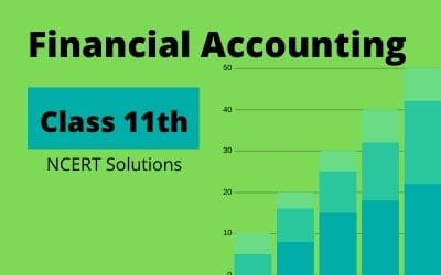 Class 11th Financial Accounting Part 1 NCERT Solution in pdf