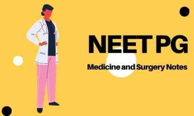 NEET PG Medicine and Surgery Notes