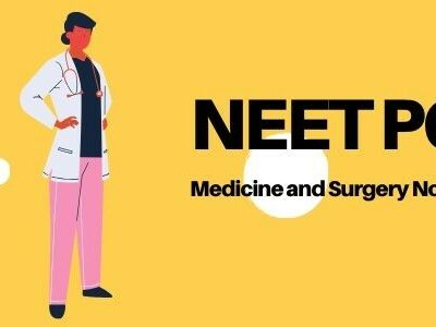 Download NEET PG Medicine and Surgery Notes For 2020-21 Session