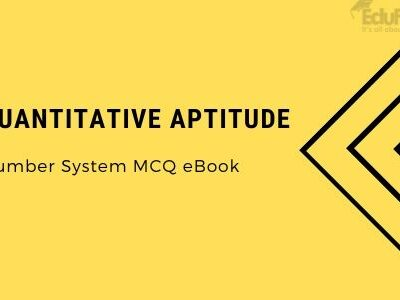 Quantitative Aptitude: Number System MCQ eBook