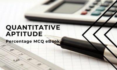 Percentage MCQ eBook