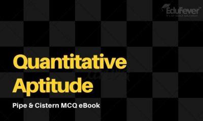 Pipe & Cistern MCQ eBook