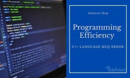 Programming Efficiency Test C++ Language MCQ eBook