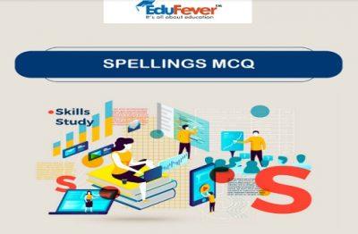 Spellings MCQ's E-Book