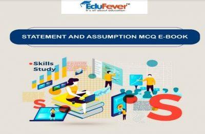 Statement and Assumption MCQ