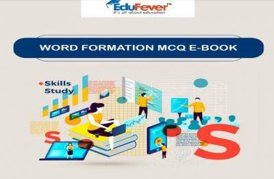 Word Formation MCQ E-Book