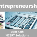 Download Free Class 12th Entrepreneurship NCERT Solutions 2020-21 in PDF