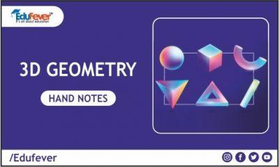 3D Geometry Hand Written Notes