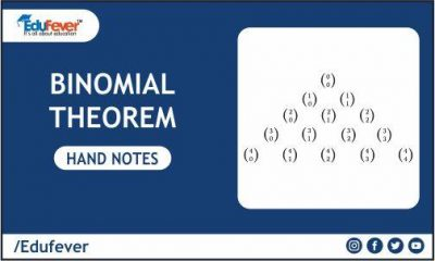 Binomial Theorem Hand Written Notes