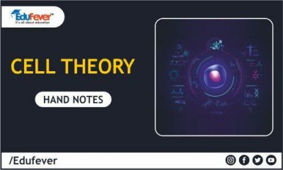 Cell Theory Hand Written Notes