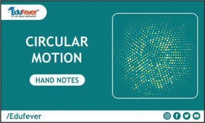 Circular Motion Hand Written Notes