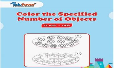 Color the Specified Number of Objects UKG Worksheets