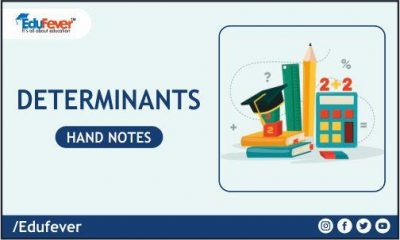 Determinants Hand Written Notes