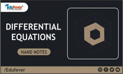 Differential Equations Hand Written Notes