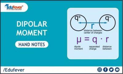 Dipolar Moment Hand Written Notes