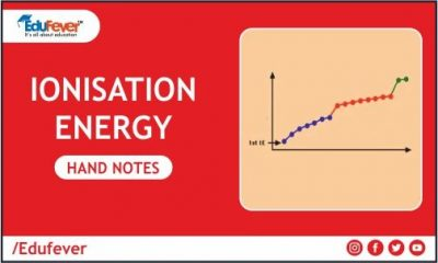 Ionisation Energy Hand Written Notes
