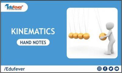 Kinematics Hand Written Notes