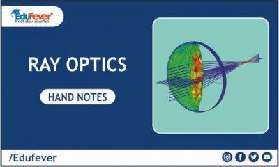 Ray Optics Hand Written Notes