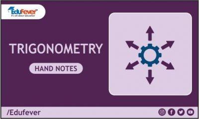 Trigonometry Hand Written Notes