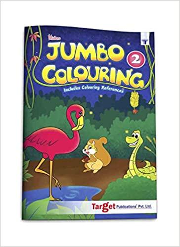 Blossom Jumbo Creative Colouring Book