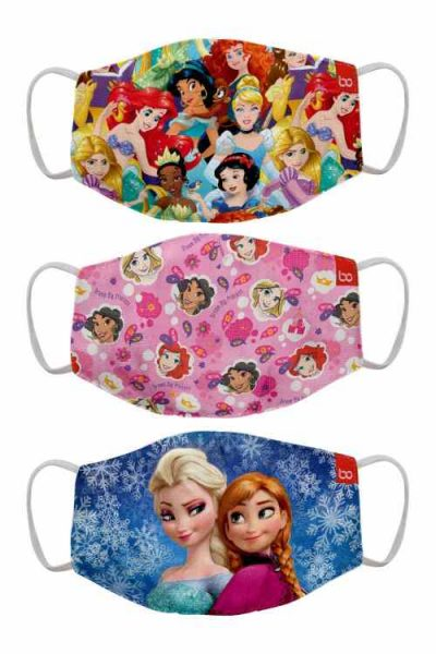 Bon Organik Disney Princess Face Mask For Kids